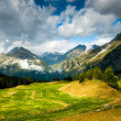 Scenic view at maloja — Stock Photo