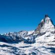 Matterhorn in winter — Stock fotografie #2345098
