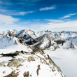 Stock Photo: Mountain panoramfrom Mittelallalin