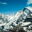 Stock Photo: Monch and Jungfrau