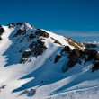 Stock Photo: Snow covered mountains