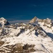 Trifthorn and dent blanche panorama — Stock Photo