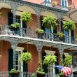 Stock Photo: New orleans french quater