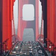 Golden gate bridge — ストック写真