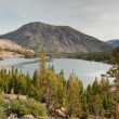 Tioga lake in yosemite national park — Stock Photo