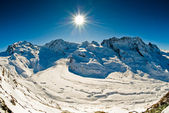 Panorama from Gornergrat — Stock Photo