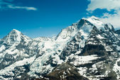 Monch and Jungfrau — Stock Photo
