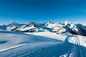 Riffelberg Panorama in Winter — Stock Photo