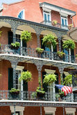 New orleans french quater — Stock Photo