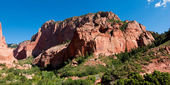 Kolob canyon panorama — Stock Photo