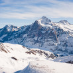 Постер, плакат: Wetterhorn above Grindelwald