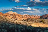 Kolob plateau in zion national park — Stock Photo