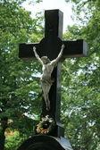 耶稣受难像 — 图库照片