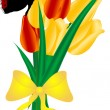 Royalty-Free Stock Vector Image: Tulips