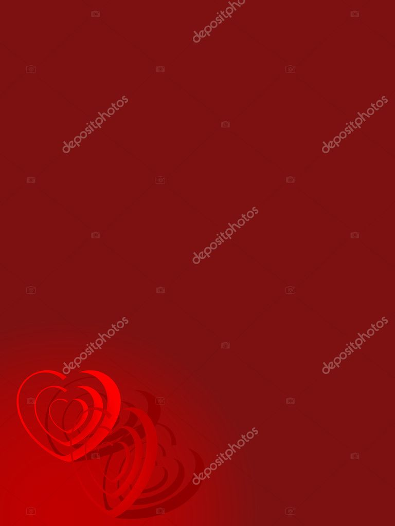 Abstract valentine background - vector illustration — Stock Vector #2344095