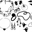 Jewelry — Vector de stock #2370051