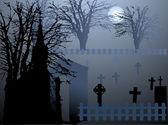 Graveyard — Stock Vector
