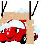 Cartoon car — Stock Vector #2420995