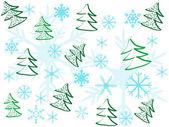 Christmas pattern — Stockvektor