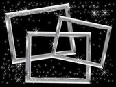 Christmas frames — Vector de stock