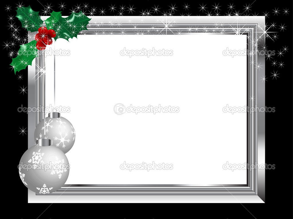 Christmas abstract background  with balls - vector illustration — Stock Vector #2531546