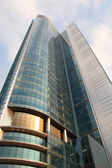 High glass building — Stock Photo