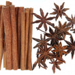Anise with cinnamon — Stock Photo
