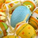 Blue easter egg — Stock Photo #2423848