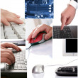 Stock Photo: Technology &business background