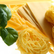 Set of spaghetti — Stock Photo