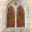 Colour stained glass window — Stock Photo #2532980