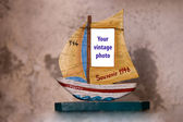 Souvenir boat — Stock Photo