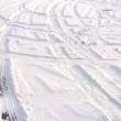 Track in the snow — Stock Photo #2458410