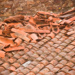 Roof after storm — Stock Photo