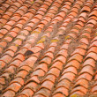 Shingle roof after storm - Stock Photo
