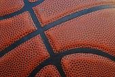Basketball - Leather Close Up — Stock Photo