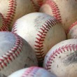 Baseballs - Depth of Field — Stock Photo