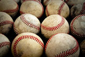 Old Baseballs — Stock Photo