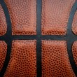 Royalty-Free Stock Photo: Basketball - Leather Close Up
