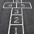 Stock Photo: Hopscotch