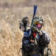 Stock Photo: Paintball Player 3