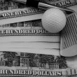 Foto Stock: Big Money Golf