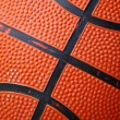 Stock Photo: Basketball - Rubber Ball Close Up
