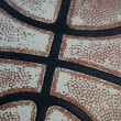 Royalty-Free Stock Photo: Basketball - Old Leather Close Up