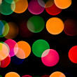 Colored Background Lights — Stock Photo
