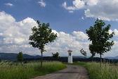 Devotional pillar — Stock Photo