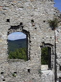 Old castle wall. — Stock Photo