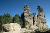 Rockies in Czech paradise — Stock Photo