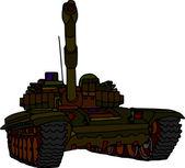 Tank — Vettoriale Stock
