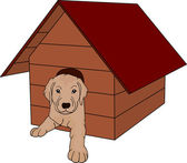 House dog — Stock Vector